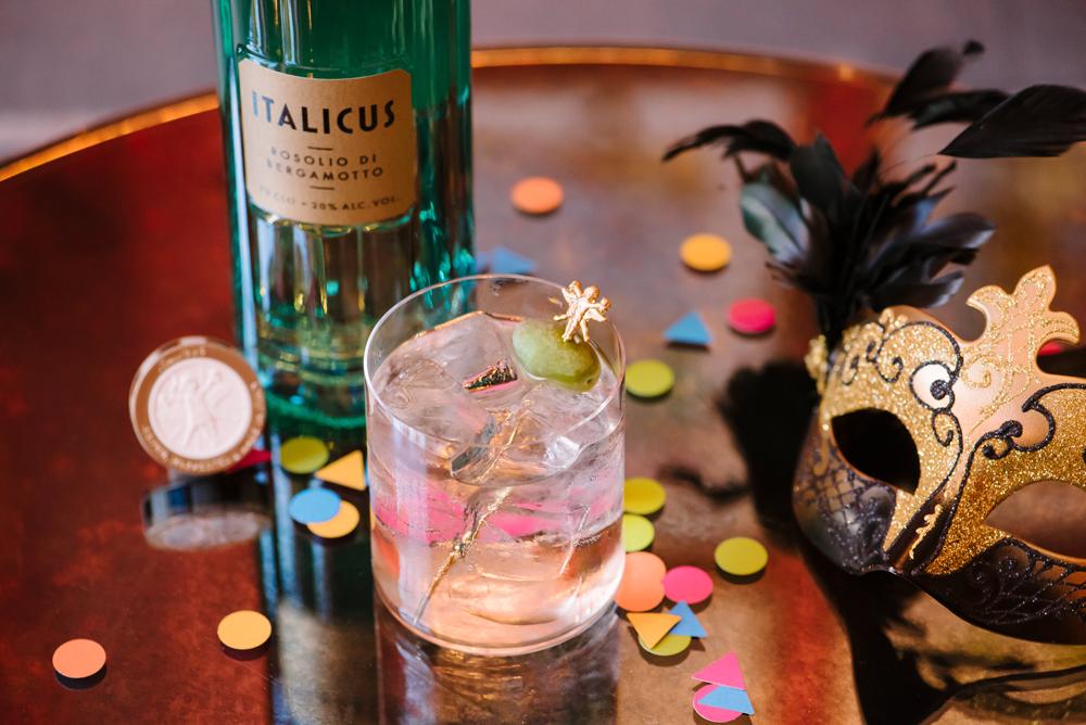 rugantino cocktail rosolio