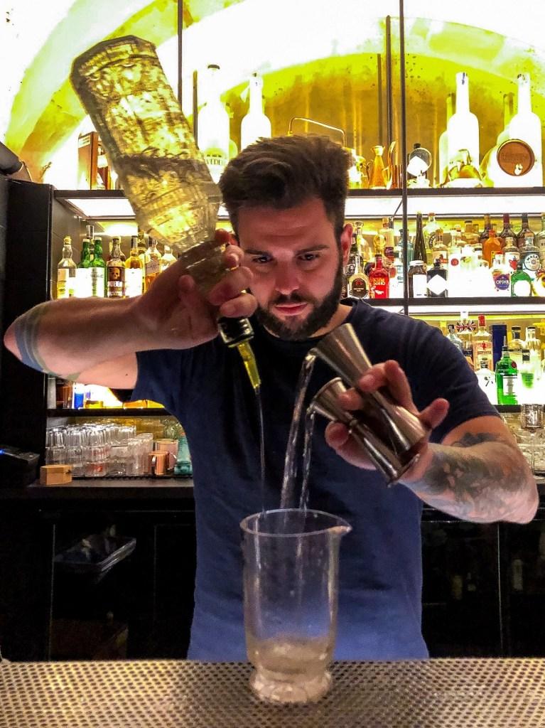 Andrea Franzo' bar manager di Barcollo a Ortigia
