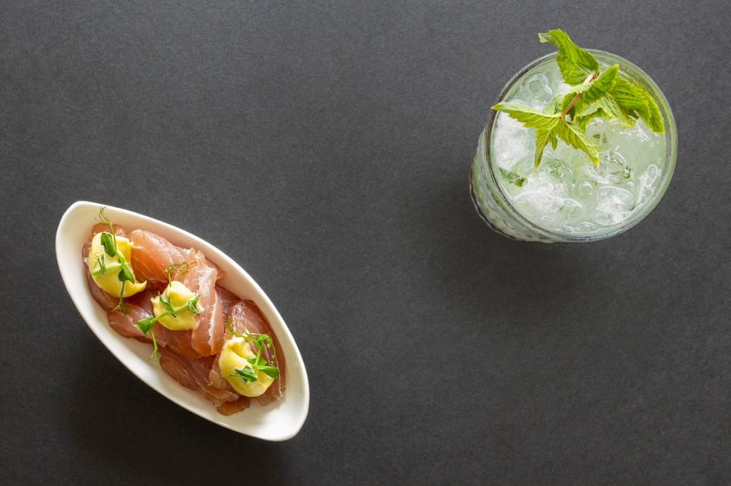 Tonno e maionese al wasabi