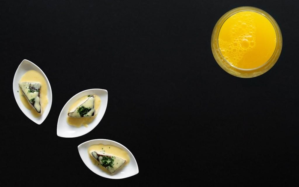 Mimosa - Trota all'arancia