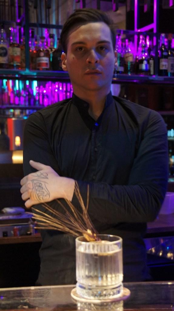 Claudio Luzi, barmanager del Ristorante Reflexo di Urgnano (Bergamo) 2