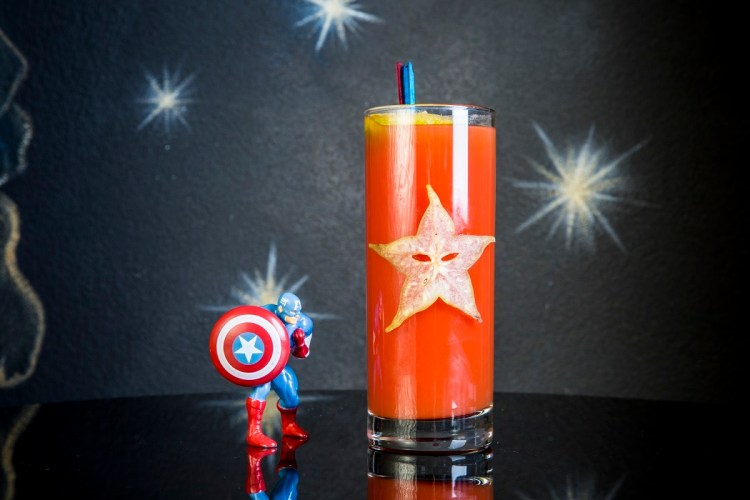 drink SENTINEL OF LIBERTY (Captain America) realizzato da I Maestri del Cocktail PHOTO BY GIOVANNA DI LISCIANDRO