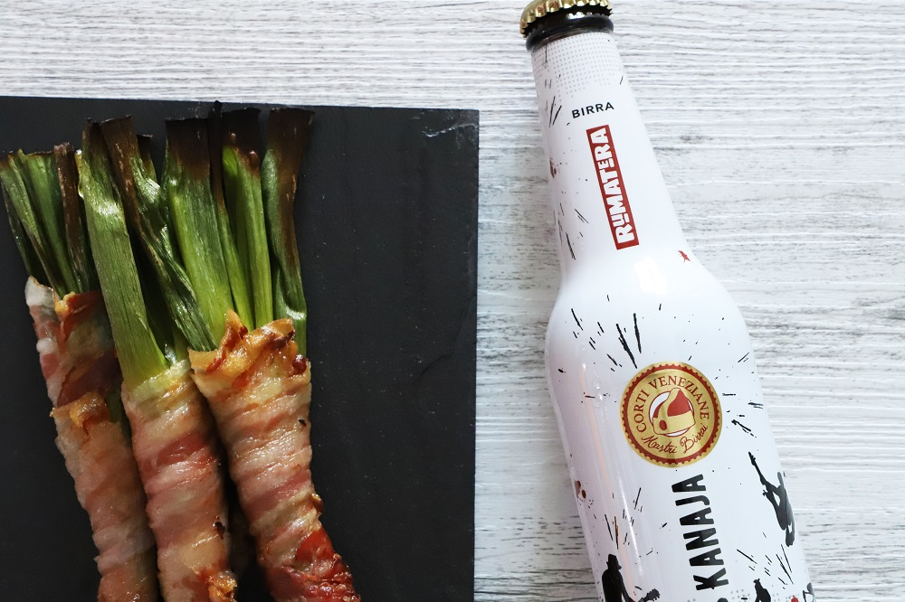 Kanaja - Cipollotto avvolto in pancetta