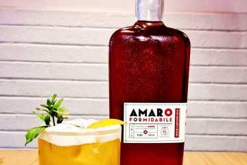 drink TIBERIO IL FORMIDABILE, di Franco Di Pietro bar manager di EGGS a Roma 2