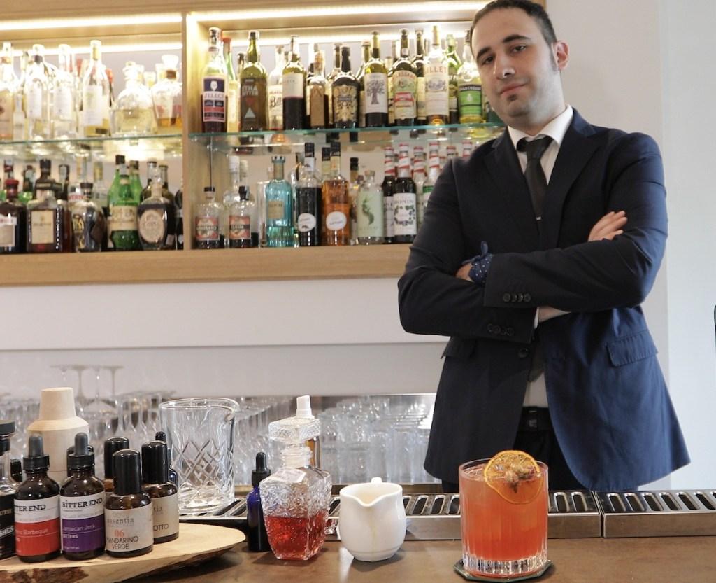 Alessio Ciucci, bartender del Borgo La Chiaracia Resort & SPA, di Castel Giorgio(Terni) 2