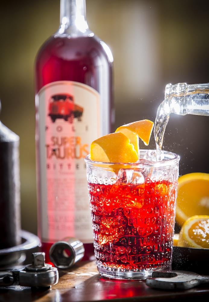 Poli - Bitter Super Taurus - cocktail Americano