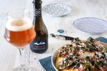 birra salento focaccia e friarielli