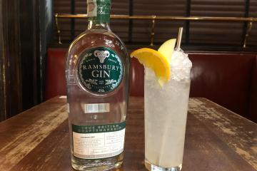 drink DAISY GIN FACTORY di Alessio Giovannesi bar manager di Baccano a Roma