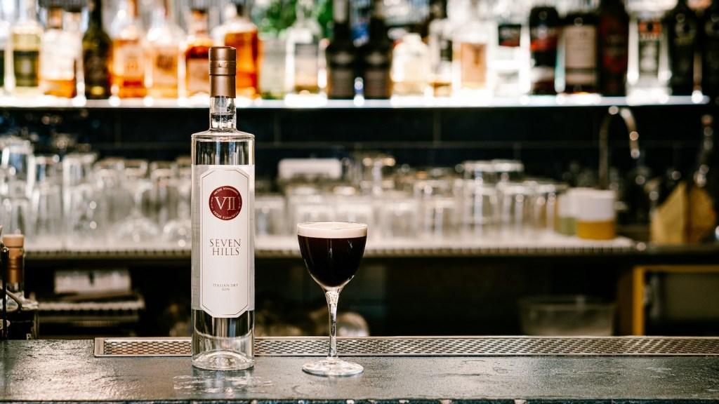 drink MR.WOLF TIME di Antonio Laselva bartender e titolare del Malidea a Polignano a Mare Bari 2