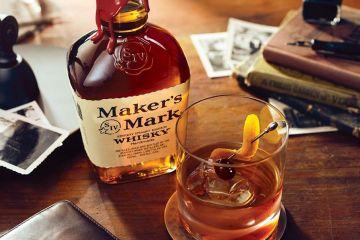 Maker's Mark bourbon Old Fashioned