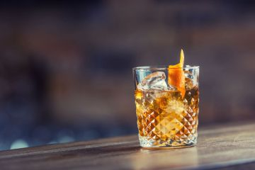 cocktail old fashioned rum brugal1888
