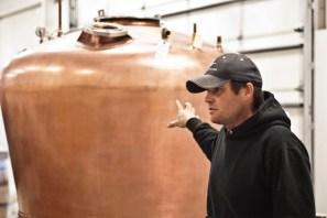 Churchill Vineyards distillery