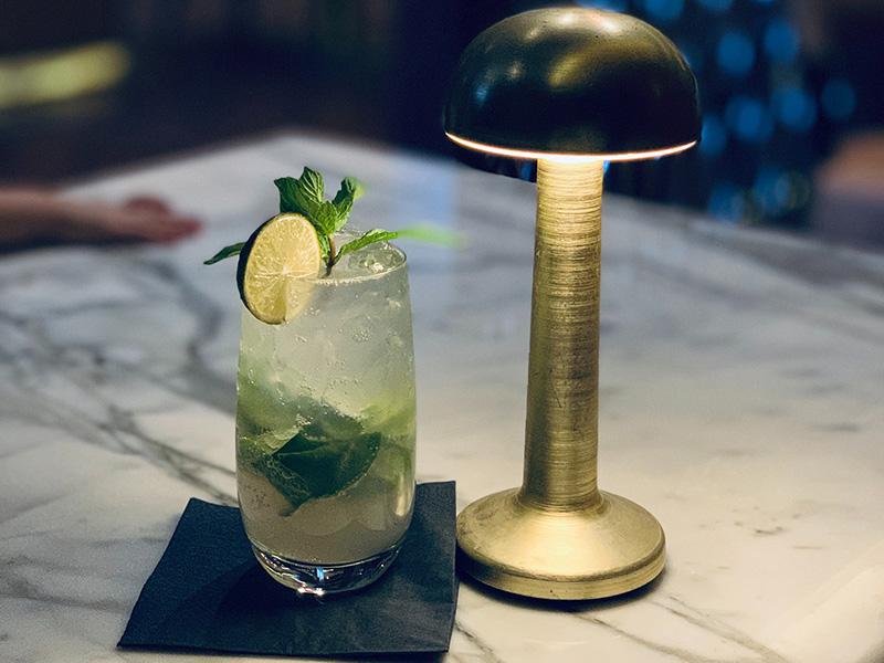Mango Mule – Mocktail