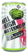 21st Amendment Hell or High Watermelon Wheat can
