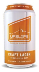 Upslope craft lager can