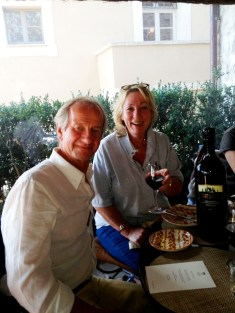 Lunchtime in Tuscany - on our Italian food and wine tour