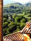 View over the Tuscan Countryside