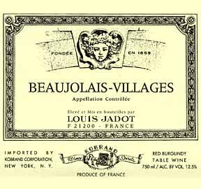 2007 Louis Jadot Beaujolais-Villages