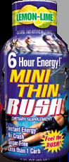 Mini Thin Rush Energy Shots