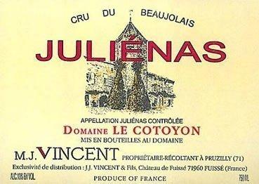 2006 M.J. Vincent Juliénas Domaine le Cotoyon
