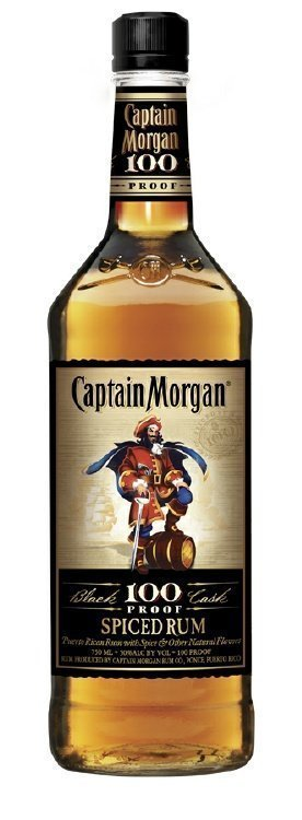 Captain Morgan Spiced Rum 100 Proof