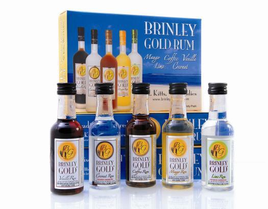 Brinley Gold Vanilla Rum