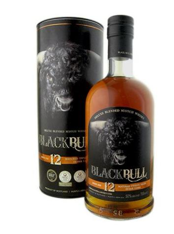 Black Bull Blended Scotch 12 Years Old