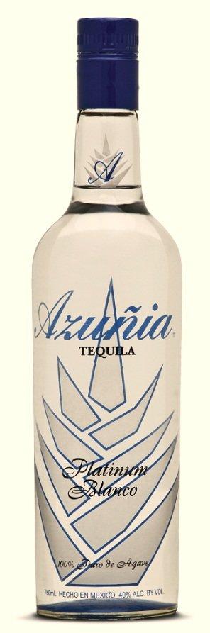 Azuñia Tequila Platinum Blanco