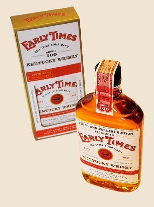 Early Times 150th Anniversary Edition Kentucky Whisky