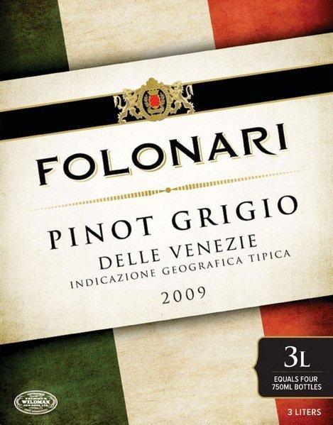 2009 Folonari Pinot Grigio Delle Venezie