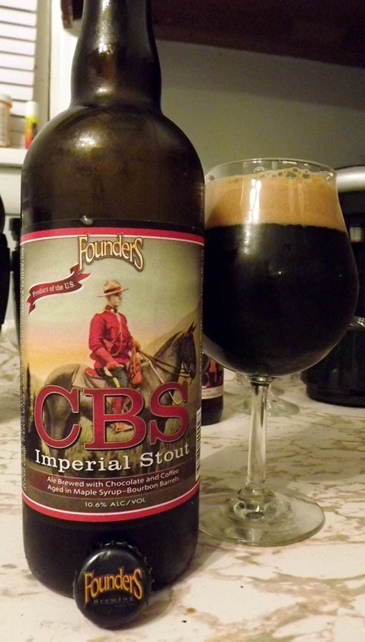 Founders Brewing CBS (Canadian Breakfast Stout)