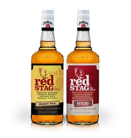 Jim Beam Red Stag Honey Tea
