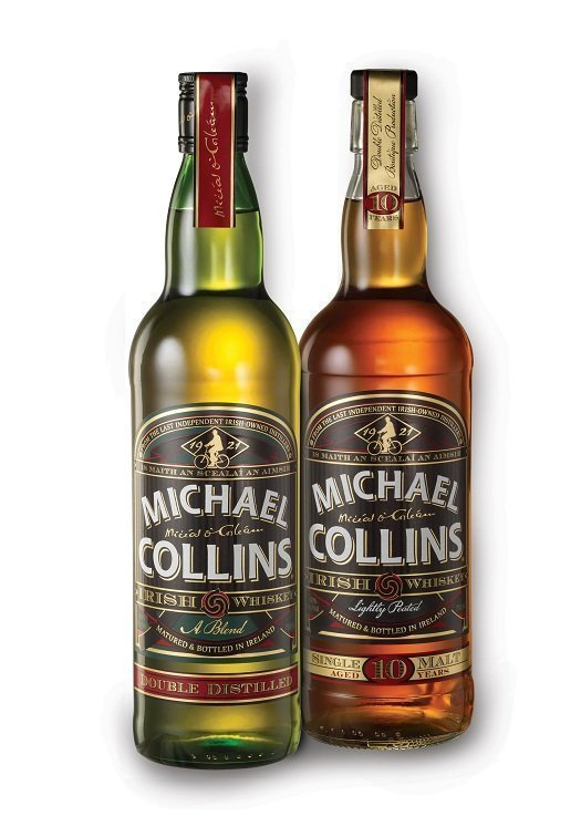 "Michael Collins ""Double Distilled"" Blended Irish Whiskey (2011)"