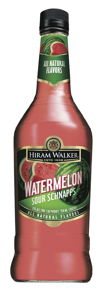 Hiram Walker Watermelon Sour Schnapps
