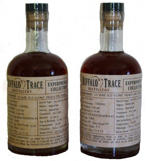 Buffalo Trace 19 Year Old Giant French Oak Barrel