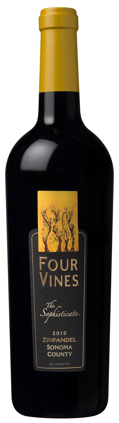 "2010 Four Vines Zinfandel ""The Sophisticate"" Sonoma County"