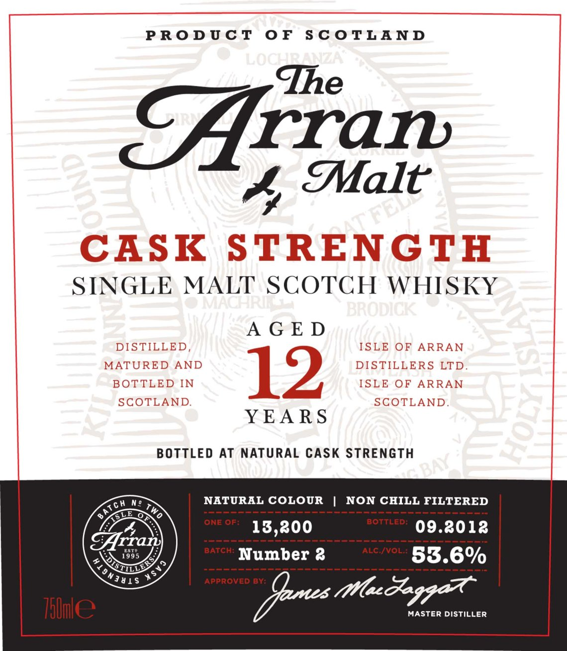 The Arran Malt 12 Years Old Cask Strength
