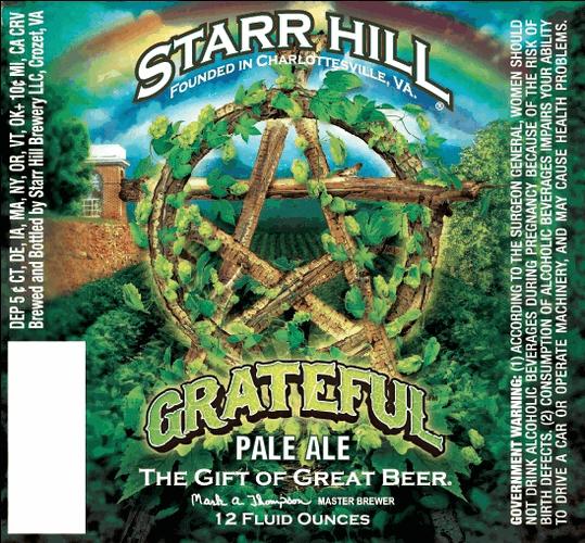Starr Hill Grateful Pale Ale