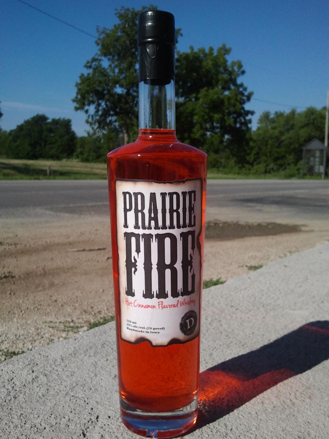 Prairie Fire Hot Cinnamon Flavored Whiskey