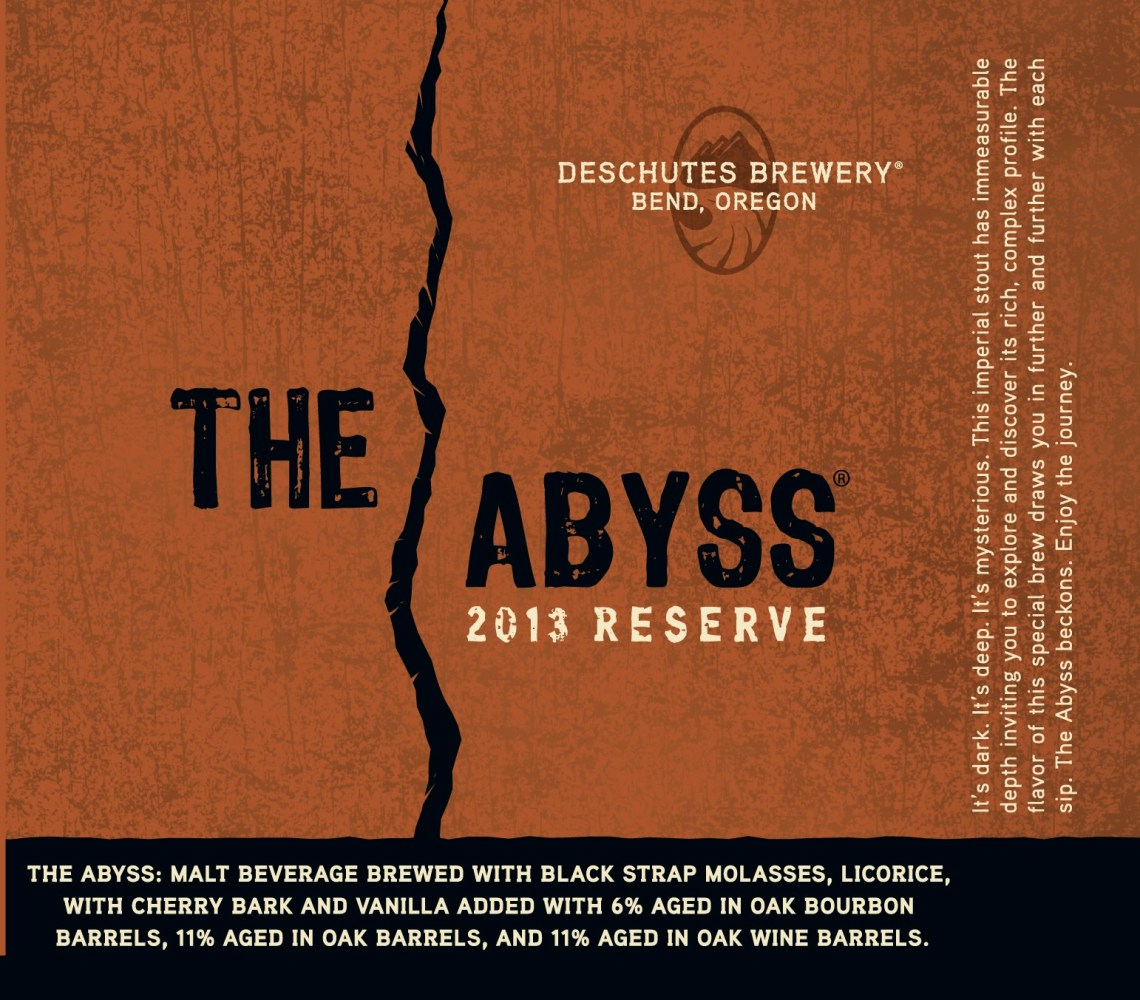 Deschutes Brewery The Abyss Aged Stout 2013 Edition