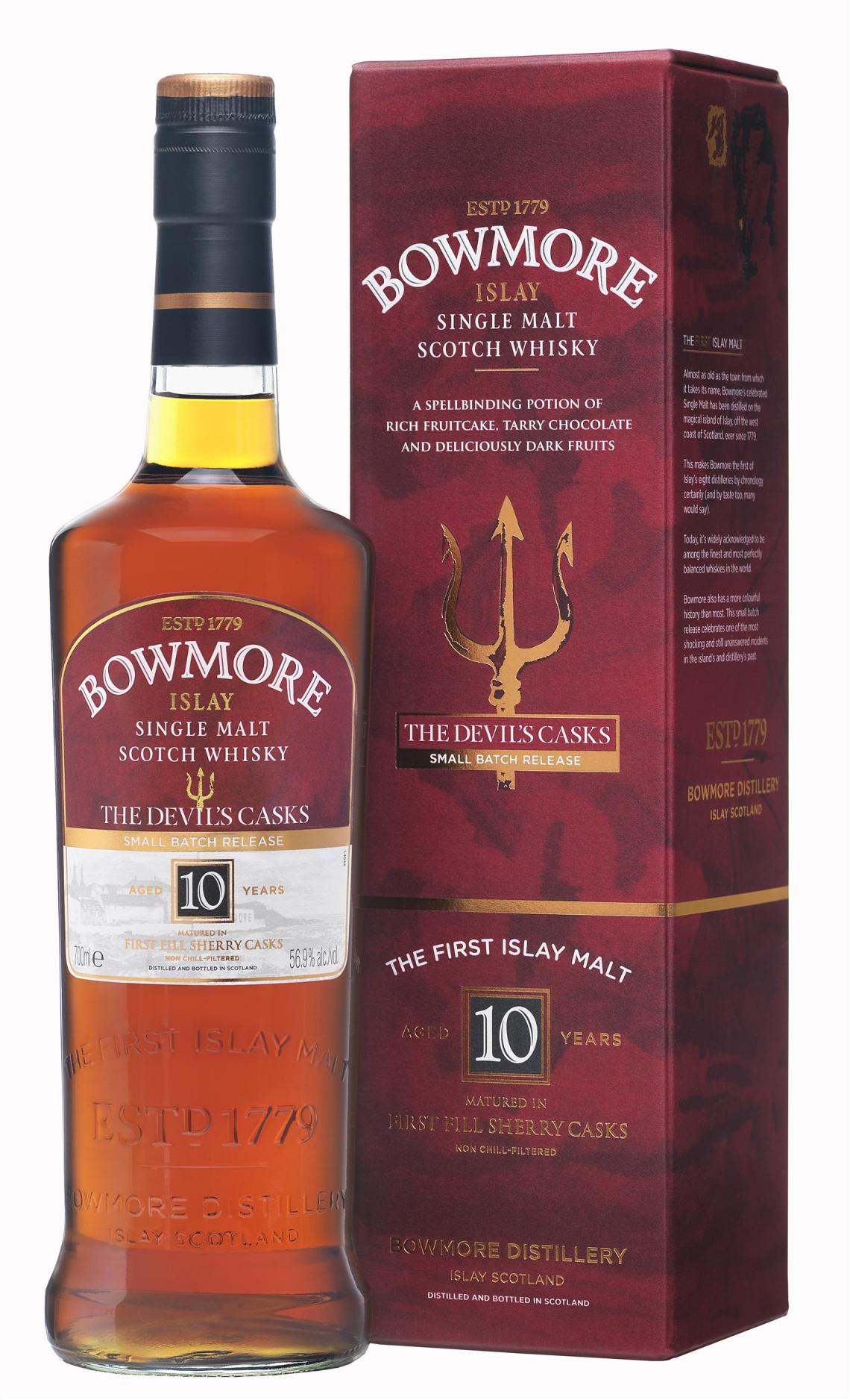 Bowmore Devil's Casks 10 Years Old