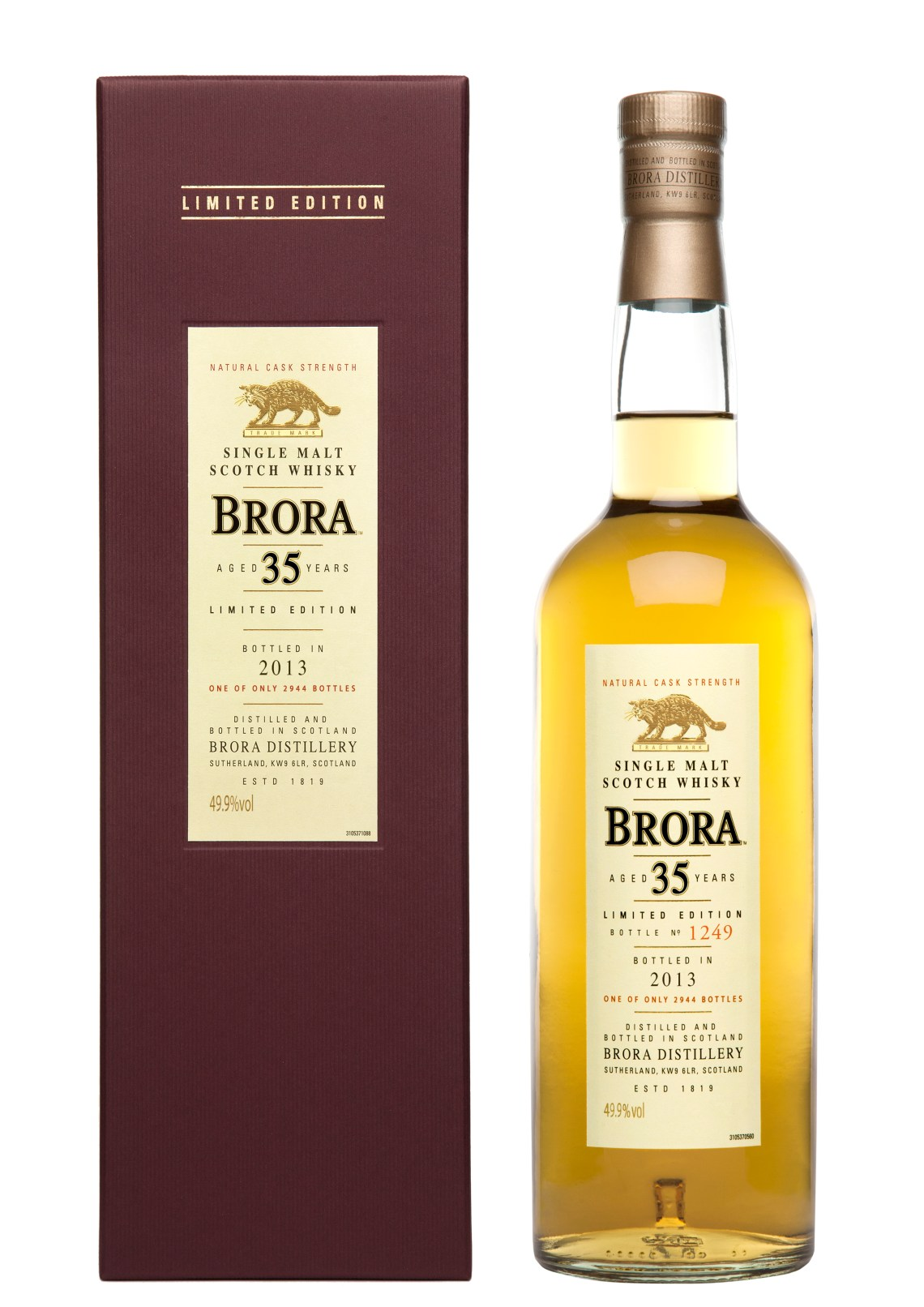 Brora 35 Years Old Limited Edition 2013