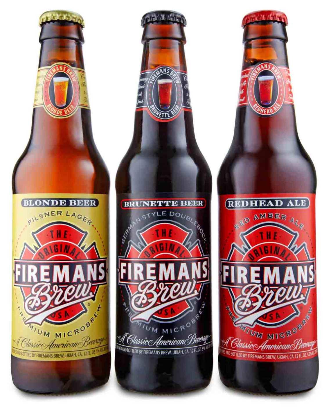 Firemans Brew Blonde Beer