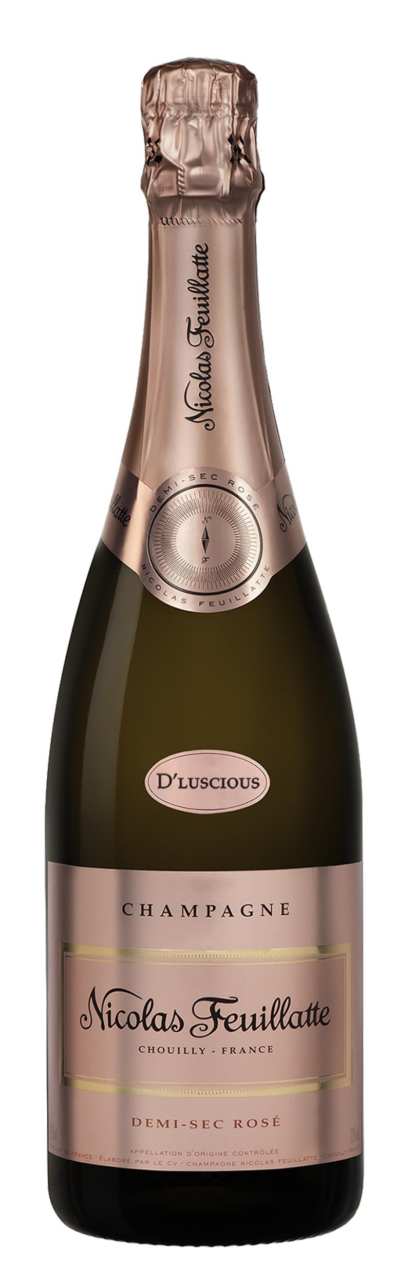 NV Nicolas Feuillatte D'Luscious Demi-Sec Rosé Champagne