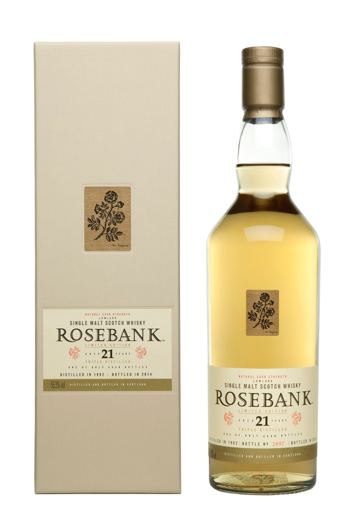 Rosebank 21 Years Old Limited Edition 2014