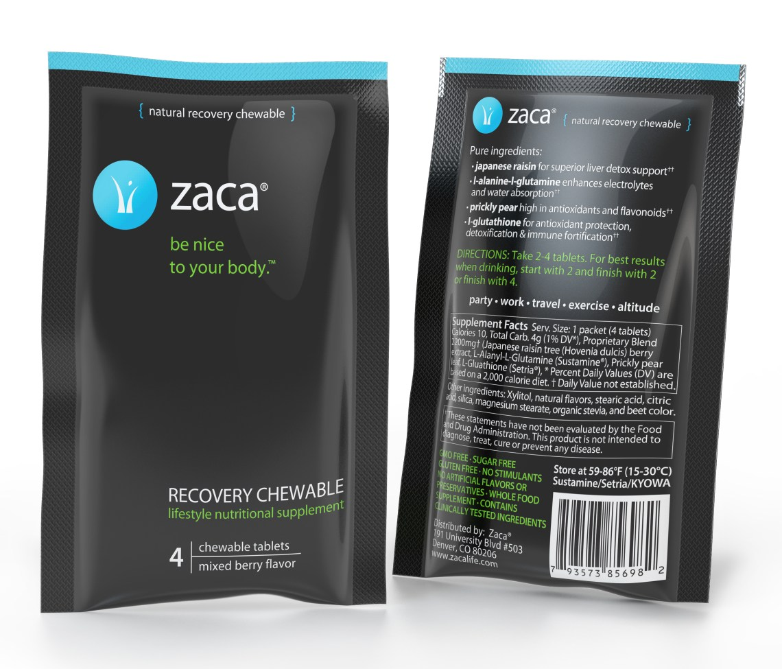 Zaca Recovery Chewables
