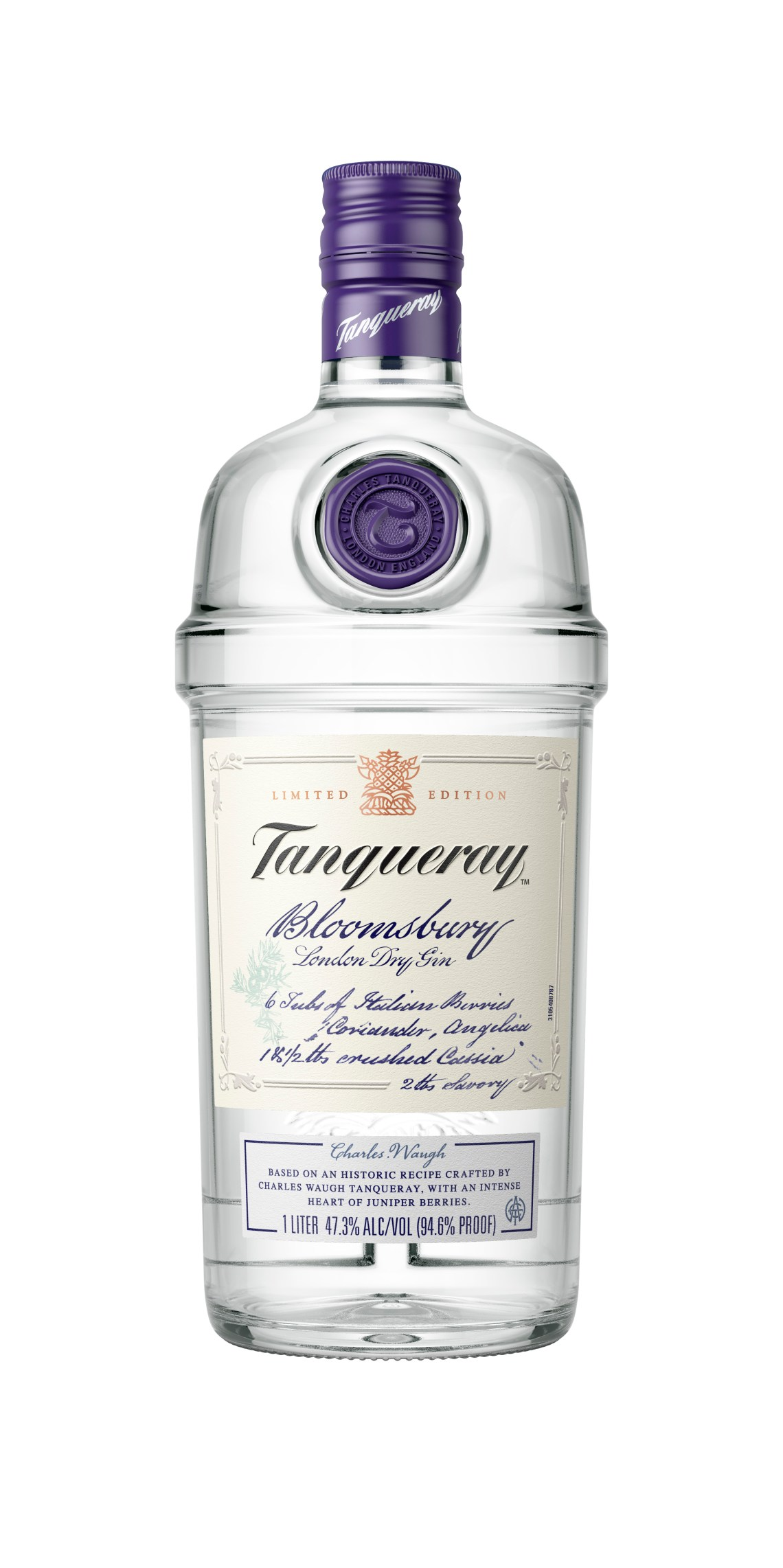 Tanqueray Bloomsbury London Dry Gin
