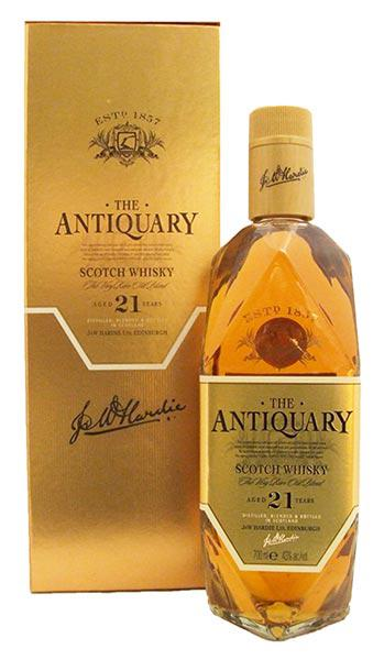 The Antiquary 21 Years Old Blended Scotch Whisky