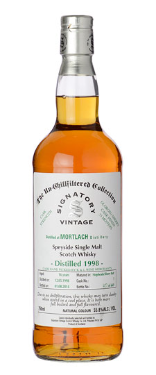Signatory Un-Chillfiltered Collection Mortlach 1998 16 Years Old