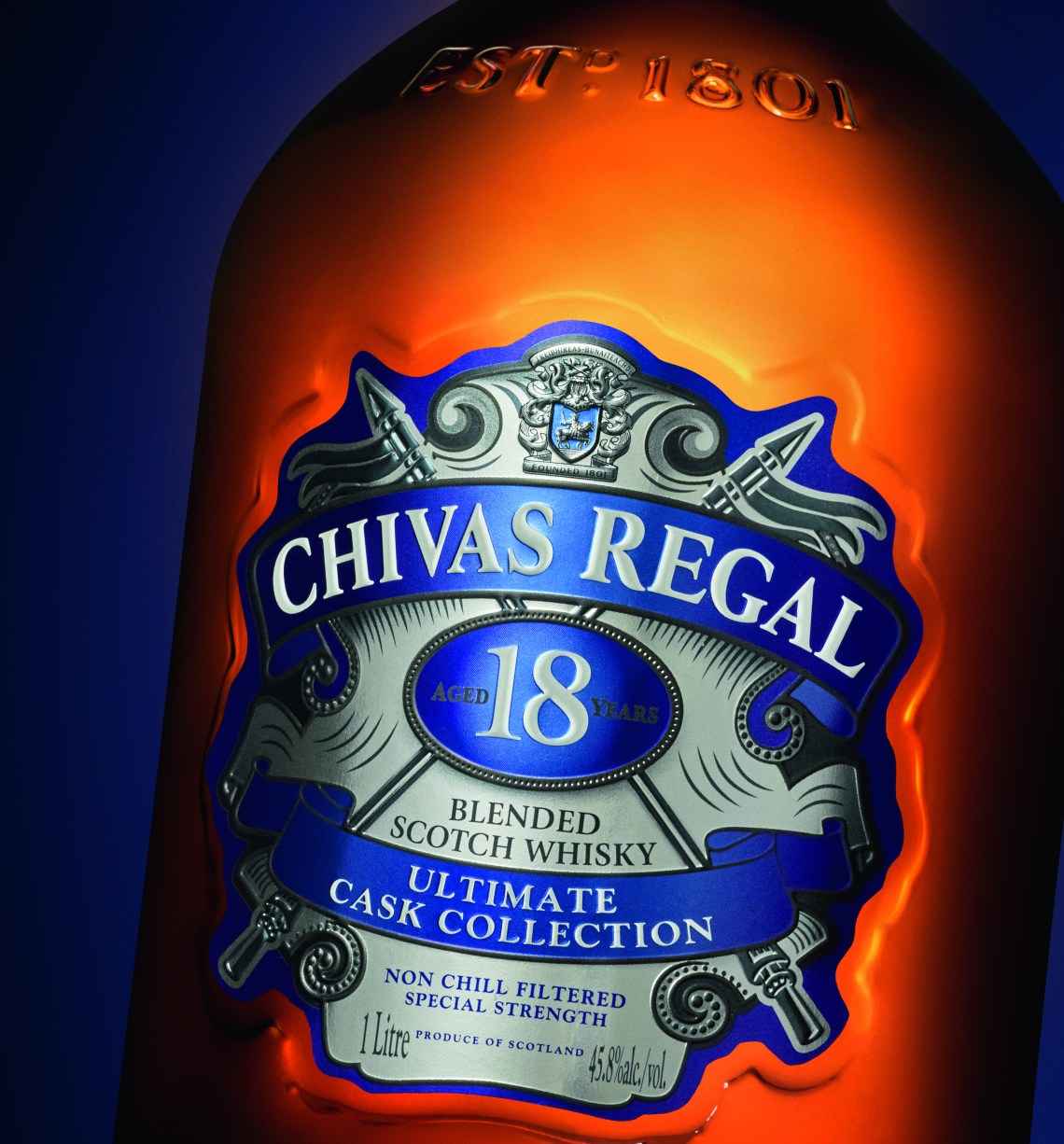 Chivas Regal 18 Years Old Ultimate Cask Collection First Fill American Oak Finish